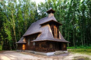 Wooden church by roman-gp