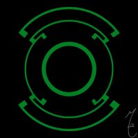 My Green Lantern Symbol by Coolif100