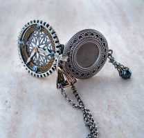 Steampunk Watch Locket by Aranwen