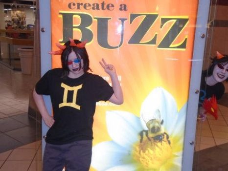4/13 Cosplaying: All About The Buzz. by AmericanBlackSerpent