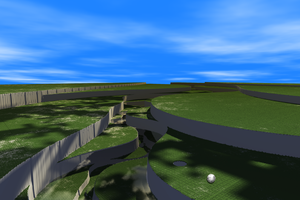 Fractal Golf by TyrantWave