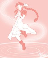 06.Waifu Aerith Gainsborough by SaBasse