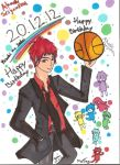 Happy Birthday Akashi... Uhm too late. by MrTing