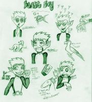 Beast boy faces by addictedval by teentitans
