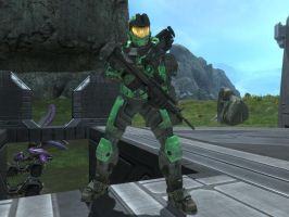 Trent in Halo Reach by KATTALNUVA