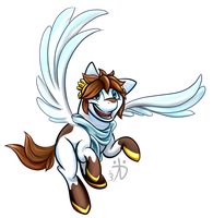 MLP - Kid Icarus by Rattlesire