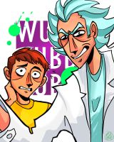 Rick n Morty by OfTheRiot