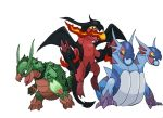 Starters of Dracora - Evolved by TRXPICS