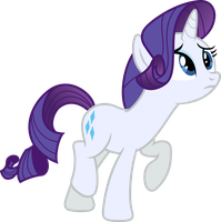 Worried Rarity by Stabzor
