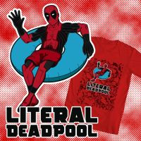 Literal Deadpool - WeLoveFine Contest Entry by e-Berry