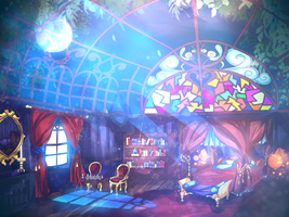 Night Time Prince's Room by acewalker04