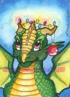 ACEO - Sparky by PickledPixie