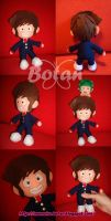chibi Ataru plush version by Momoiro-Botan