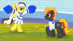 Cheer For Me by flashlighthouse