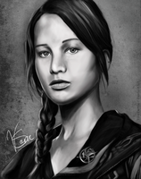 Katniss Everdeen by TinaTurtle
