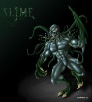 Slime -My personal symbiote by saphiro