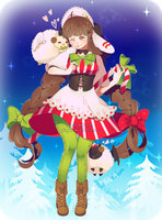 DTA Entry - Candy Cane by nuenie