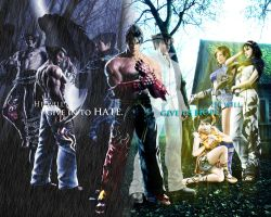 Jin Kazama: Two Sides, One Choice by potterhead421