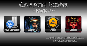 Carbon Icons Pack 4 by OOmatrixOO