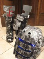 Custom Dead Space Unitology Helmet and Boots by I-EAT-SOULS