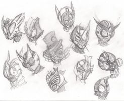 Fanmade Kamen Riders of 2011 by RiderB0y