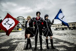 Kuroshitsuji military~ by ThingsTaruCosplay