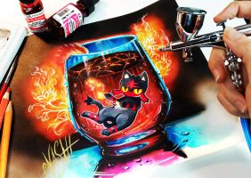 Litten Hot Lava Supreme