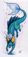 Vaporeon by Barely-Sparrow