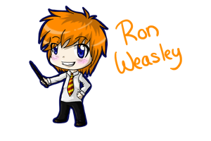.:Ron Weasley: Chibi:. by ShadownChaosforevr