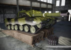 Challenger 2 tank by shareck