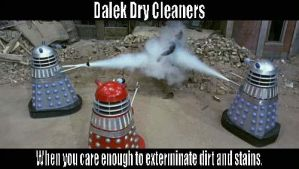 Dalek Dry Cleaners by mbc12-5-58
