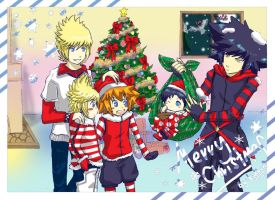KH_Merry Christmas 2010 by Kidkun
