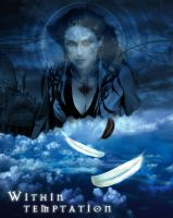 Within Temptation in heaven by bryan-t