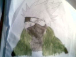 Kakashi (coloured) by CoolShazza