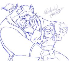 Day 20 - Favorite Disney Love Scene by kimberly-castello