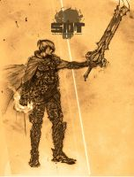 Knight of the Death Blade by cloud9saul
