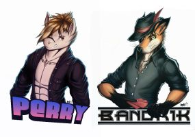 Badge Set by Boneitis