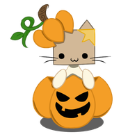 Boxed Pumpkin 10/1 by PhantomPhoenix4