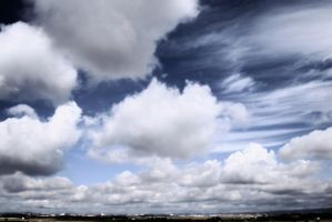 Nubes Perspectiva by SuperStar-Stock