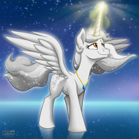 StarDust the Alicorn -Commission- by BuizelCream