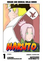 [COVER] NARUSAKU - NARUTO:Hokage and Medical Ninja by NaruSasuSaku91