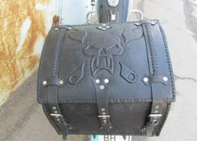Motorcycle leather box by EgorOrda
