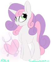 Grown Up Sweetie Belle by FarewellDecency