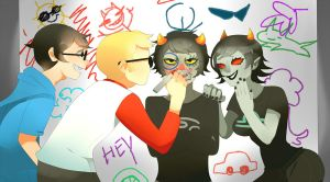 HomeStuck-Doodle by Ame-nii
