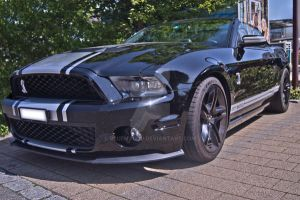 Black Shelby Mustang  Cabrio - 1 by blueMALOU