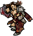 Numarian Barbarian- Male 1 by WhoDrewThis