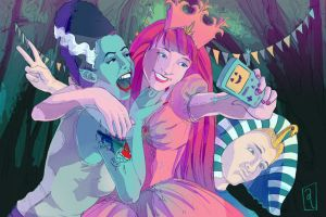 Night of the Living Selfie by GwynConaway