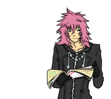 Marluxia. Click to see gif. by Kozekito