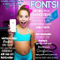 Dmsresource Fonts Pack 1 by dmsresource