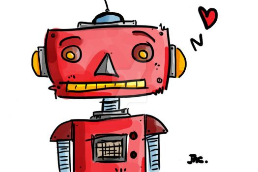 Robotlove by HellHunter91